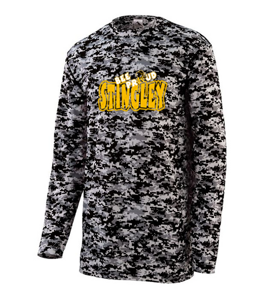 Long sleeve camo tee-Stingley fall '20