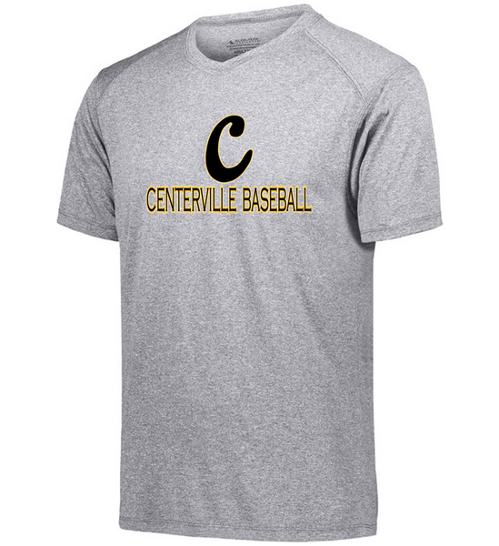 Dri fit Tee-Centerville 12u Black Baseball