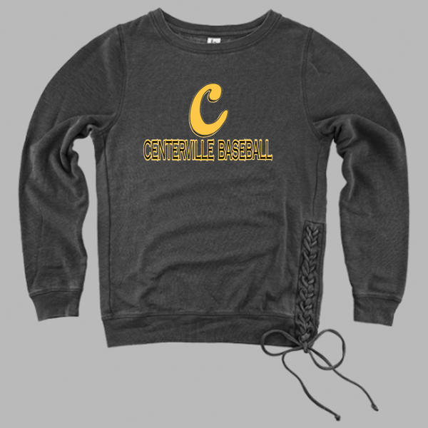 Ladies rally lace up pullover-Centerville 11u Baseball
