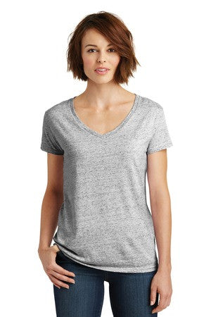 Cosmic Relaxed V-Neck Tee-Ladies fit