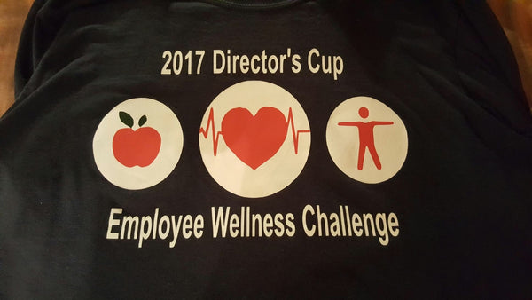 Short Sleeve Tee-Director's Cup Employee Wellness Challenge