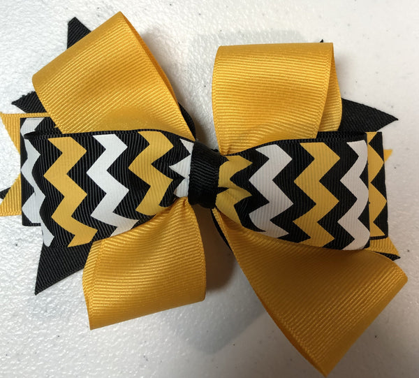 Hair Bow  on clip -Driscoll fall 20
