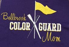 Long Sleeve T-Shirt-Colorguard Mom