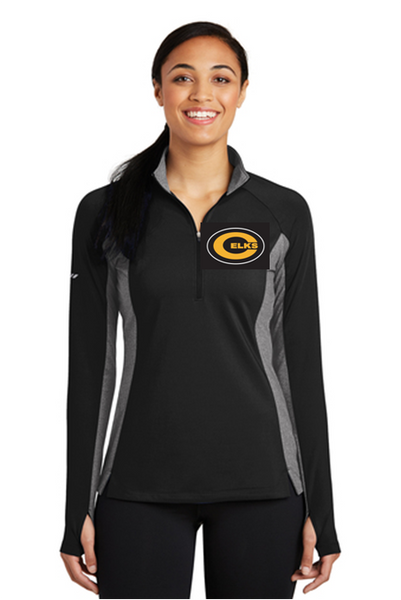 Ladies Sport Wick Stretch 1/4 zip pullover-Magsig fundraiser
