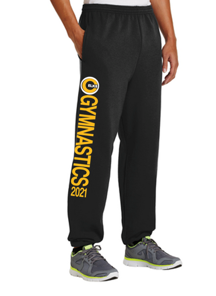 Port & Company Fleece Sweatpant with Pockets - CHS Gymnastics 20
