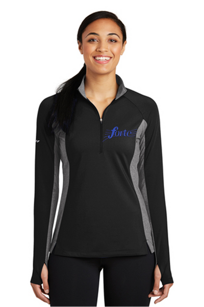 Sport Wick Stretch colorblock 1/4 zip pullover-Centerville Choir Board