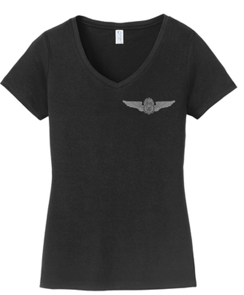 2020 DEA Aviation Division Ladies cut V-neck T-Shirt