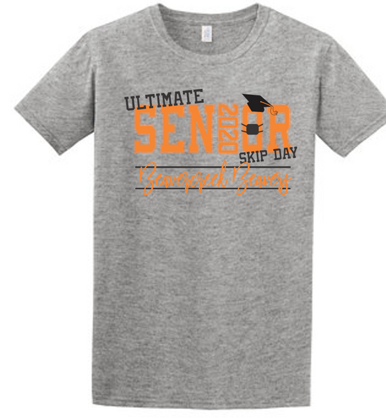 Ultimate Senior Skip Day 2020 tee