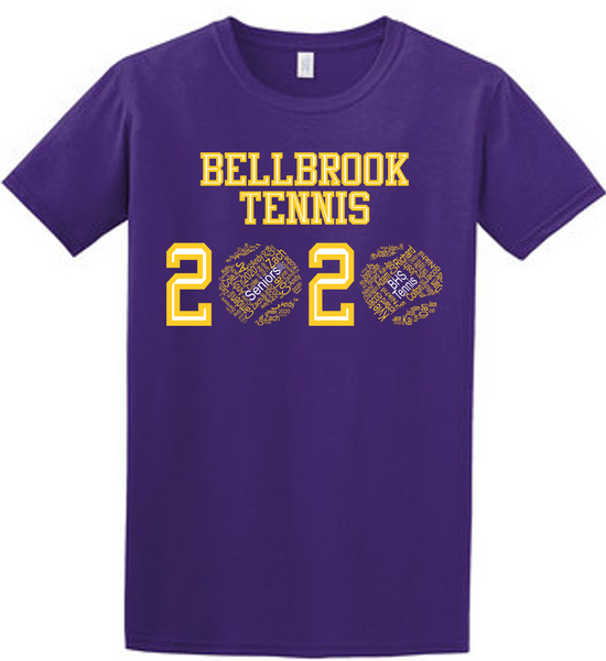 Bellbrook Tennis 2020 tee-BHS Men's Tennis