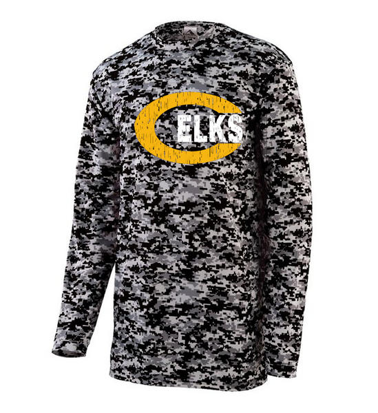 Camo long sleeve tee-Weller fall 20