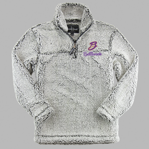 Sherpa full zip or quarter zip-BMB Holiday 20