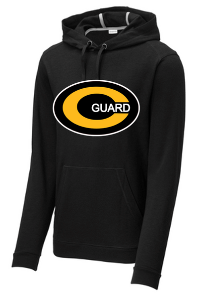 PosiCharge ® Tri-Blend Wicking Fleece Hooded Pullover-Centerville Jr. Color Guard 20