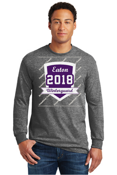 Long sleeve tee-Eaton winterguard