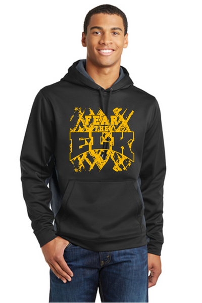 Camo-hex Colorblock Hooded Sweatshirt-Magsig fundraiser