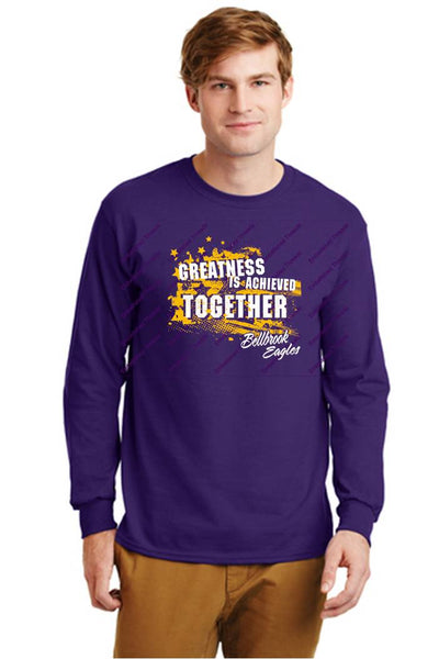 Long Sleeve T-Shirt-BHS Staff Spirit wear