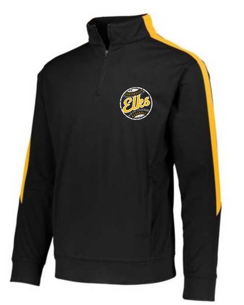 1/4 zip pullover. Youth, Adult& Ladies - 12u Black  baseball