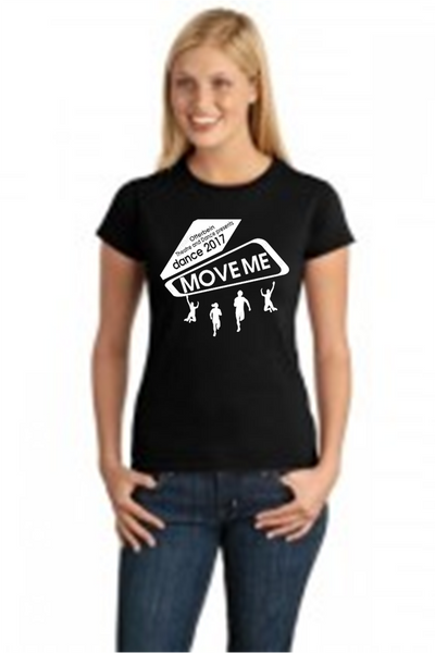 Ladies Fit Short Sleeve T-Shirt-MOVE ME