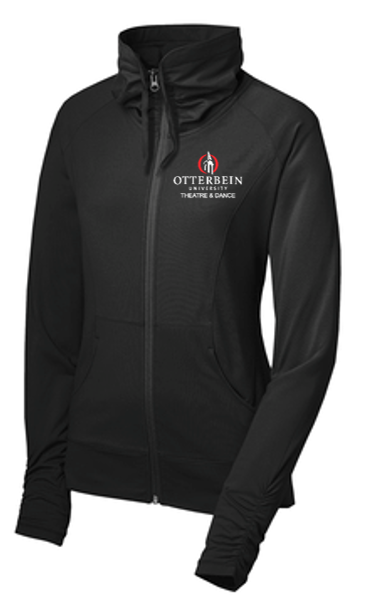 Sport-Wick Stretch Full-Zip Jacket- Otterbein Theatre and Dance 2021