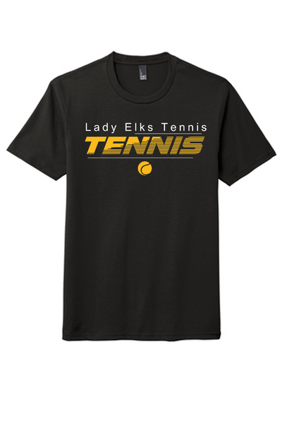 Crew neck tee-CHS tennis 2020