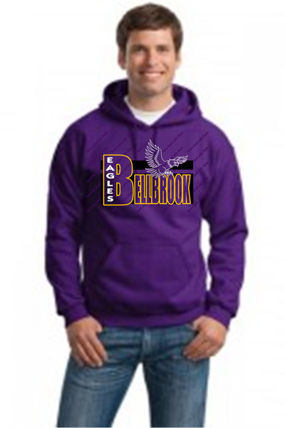 Adult Hooded Sweatshirt-BME spirit wear fundraiser