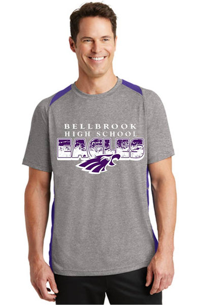 Heather Colorblock Contender™ Tee-BHS Staff Spirit wear