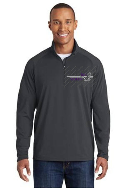 Sport Wick Stretch 1/4 zip pullover-BHS Staff Spirit wear