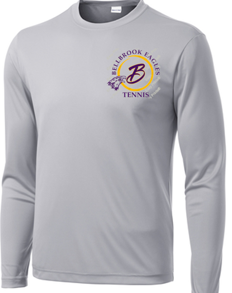 Long Sleeve PosiCharge® Competitor™ Tee-BHS Tennis 19