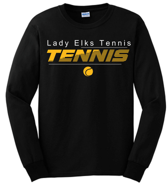 Long sleeve tee-CHS tennis 2020