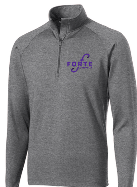 1/4 Zip Pullover-Ladies and Men's cut- Centerville Choir/Forte