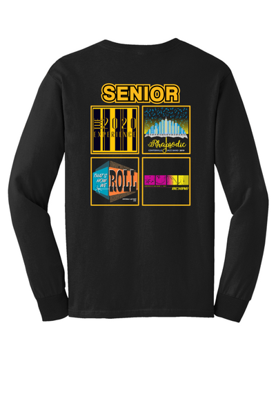 Senior & Senior parent Long Sleeve Tour shirt-CJB 2020