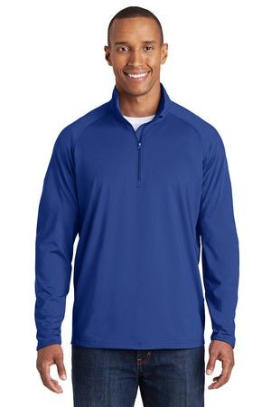Men's Sport-Wick Stretch 1/4 zip Pullover-WPAFB F-22
