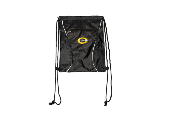 Multi-Pocket Drawstring Bag