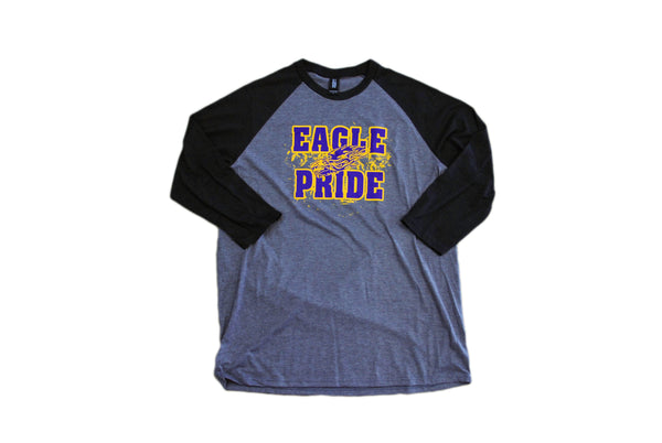 Golden Eagle's 3/4 Sleeve Graphic T-Shirt