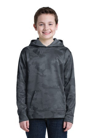 Sport-Wick® CamoHex Fleece Hooded Pullover