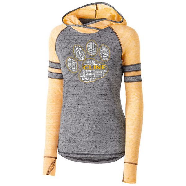 Ladies/girls Advocate hoodie-Cline fundraiser