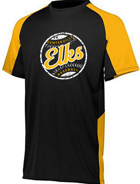 Colorblock Dri fit Tee-Centerville 12U Baseball