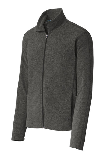 Heather Microfleece Full-Zip Jacket- ICU NA
