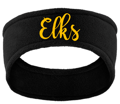 Fleece headband-Centerville 12u Black Baseball