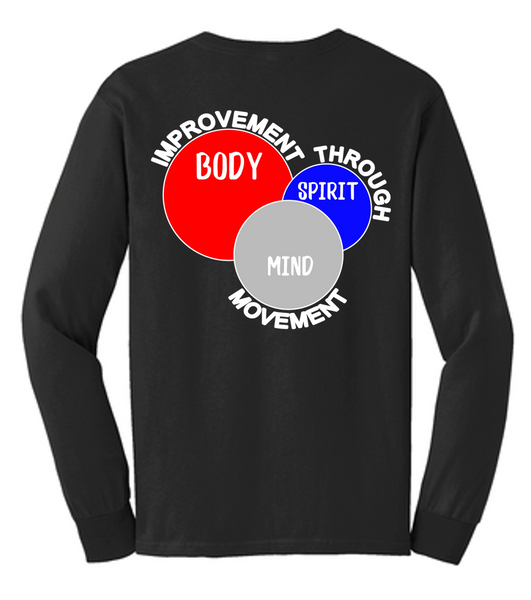 Copy of Mind, Body, Spirit long sleeve tee-AKTA