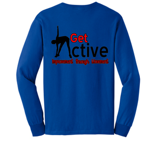 Get Active long sleeve tee-AKTA