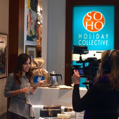 NBC Feature Caffè Unimatic at Soho Holiday Collective Pop Up in NYC