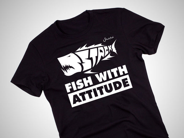 Fish With Attitude Cotton T-Shirt