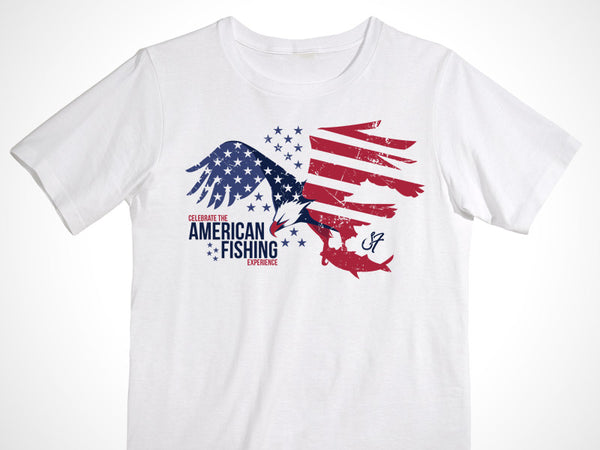 Stackfish American Eagle Cotton T-Shirt