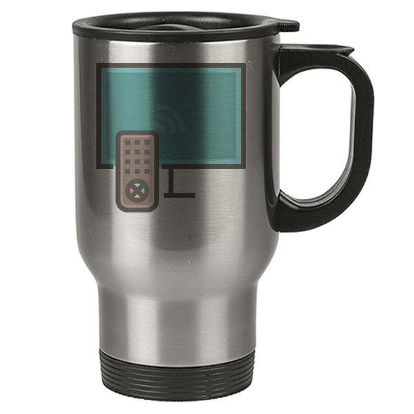 Geek Travel Mug - Smart Wifi Tv Remote Control - Thermal Eco - Stainless  Steel