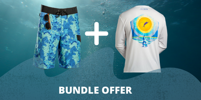 BOARD SHORTS + SHIRT = $75
