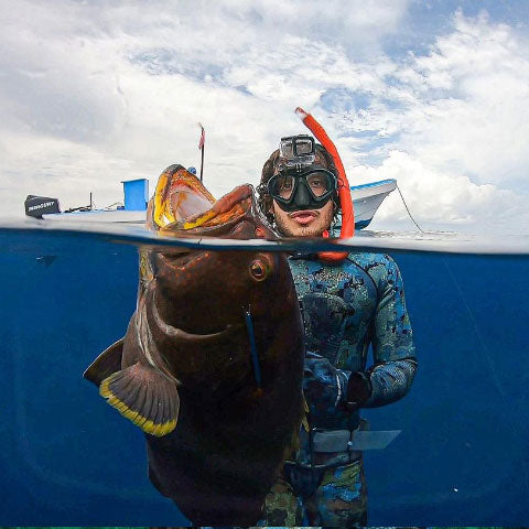 Hexskin Ambassador Spearfishing