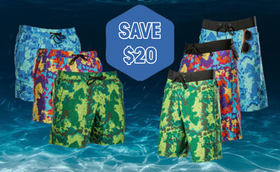 $20 OFF ALL MEN'S SWIMWEAR