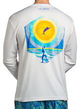 Jumping Marlin Lightweight Long Sleeve UPF Tee Shirt - Hexskin