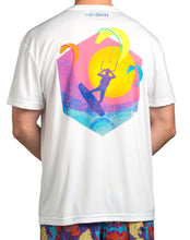 Sunset Kite Lightweight UPF Tee Shirt - Hexskin