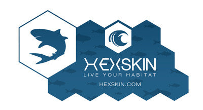 Hexskin Shark Decal - Hexskin